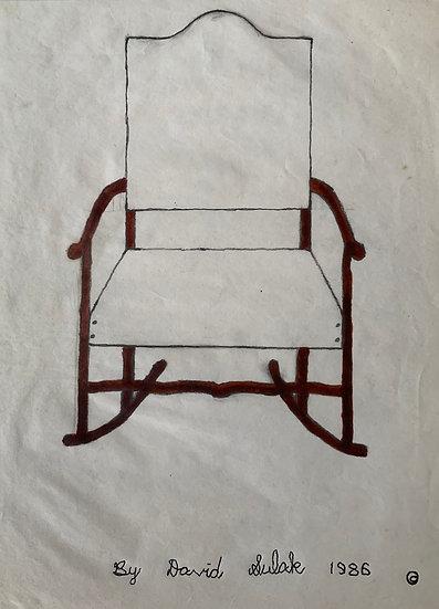 """Rocking Chair"" by David Sulak Original Art"