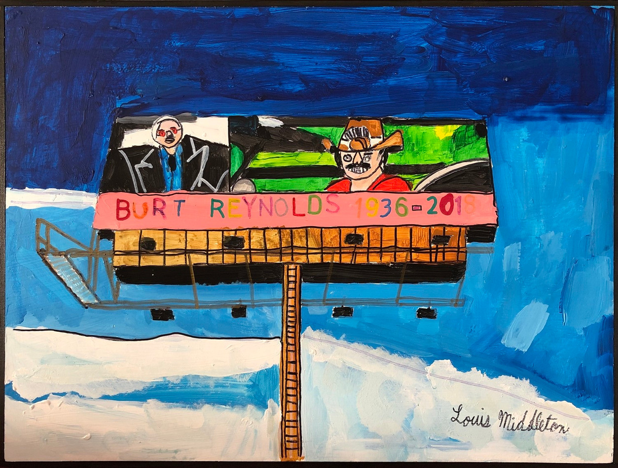 Burt Reynolds by Louis Middleton