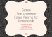 Cannon Teleconference-Estate Planning for Professionals