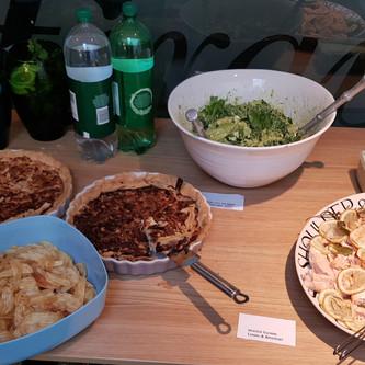 Homemade Buffet Lunch