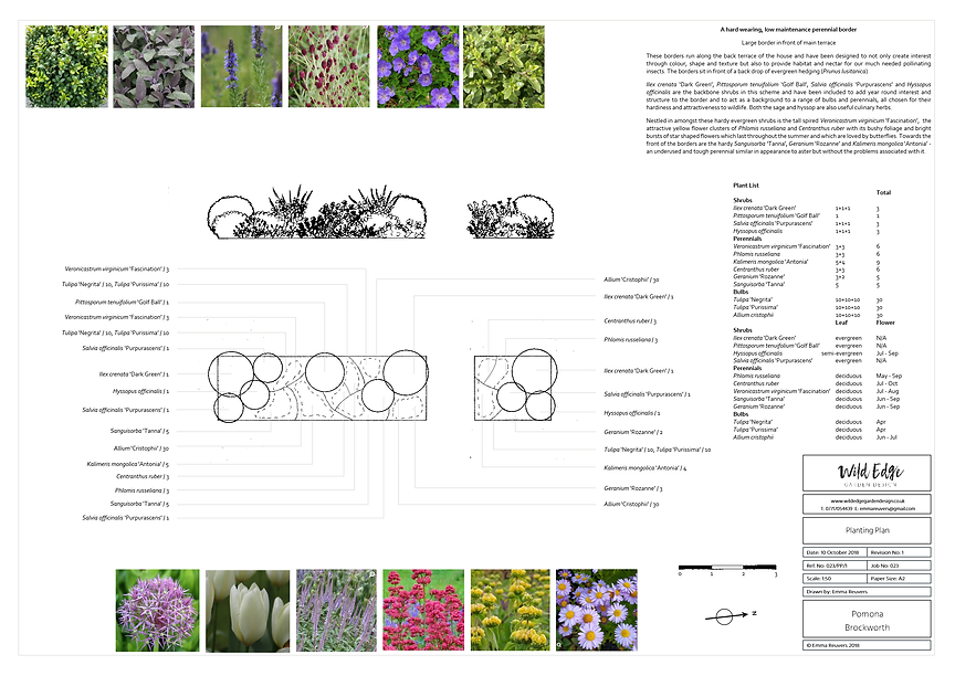 Wild Edge Garden Design, Cheltenham, Gloucestershire