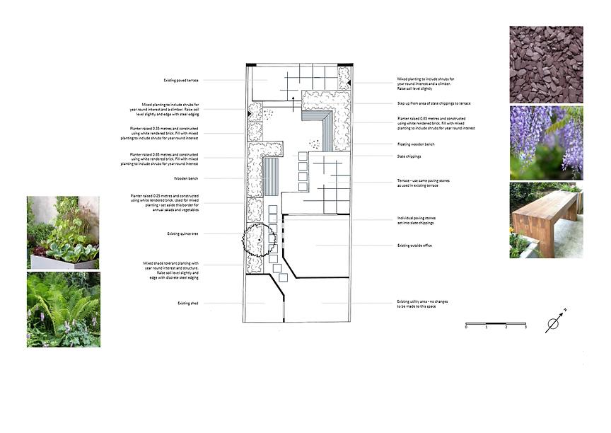 Garden Design Oxford layout plan