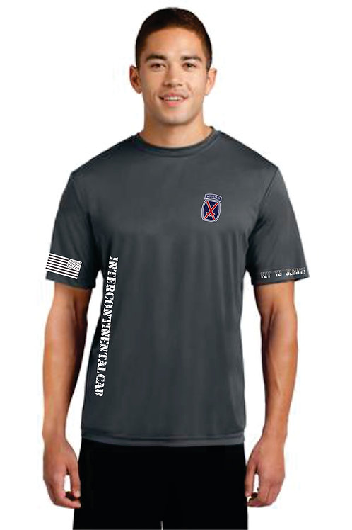 10th CAB Moisture Wicking tee with sleeves