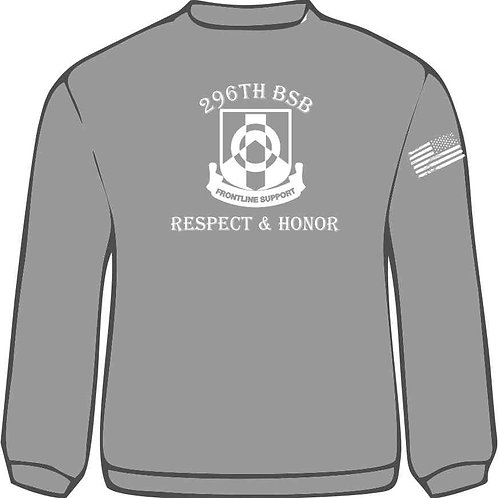 296th BSB Cotton Long Sleeve