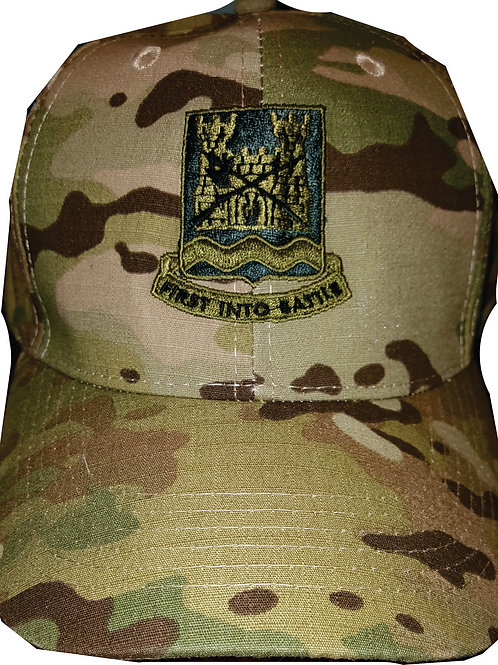 898 BEB Multi-cam hat with Call sign