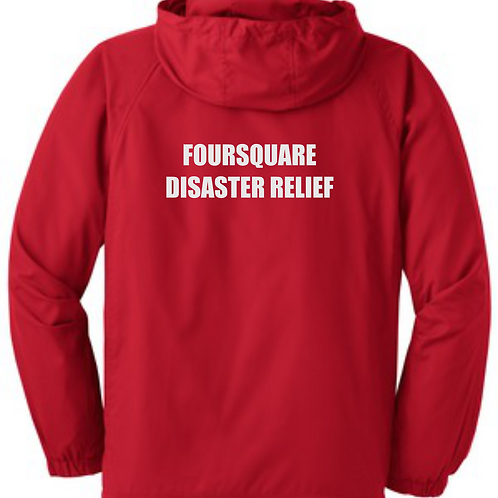 Foursquare Hooded Jacket