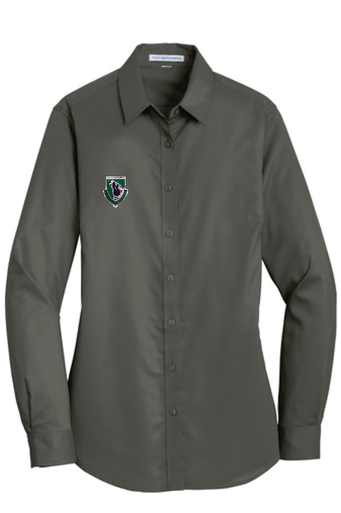 104th Woman's Long Sleeve Button up