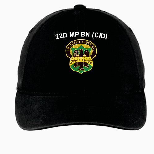 22nd MP Hat with call sign