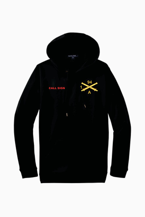 1-94 FA moisture wicking hoodie with call sign
