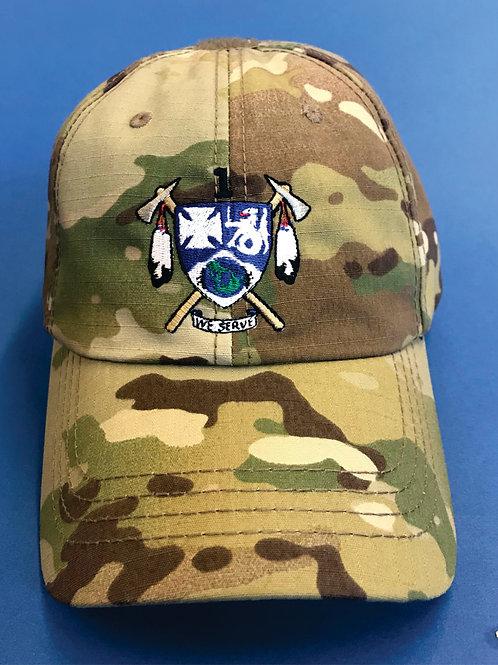1-23 IN Hat colored logo full foam back