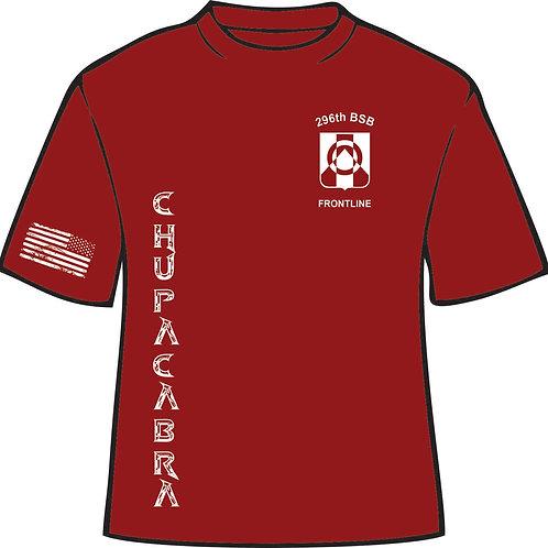296th Moisture wicking Tshirt