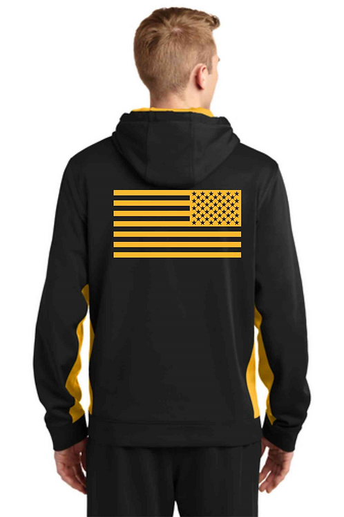 1st Corp Moisture wicking Hoodie w/ call sign