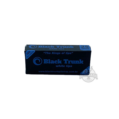 Piteira de Papel Black Trunk Branca 25mm