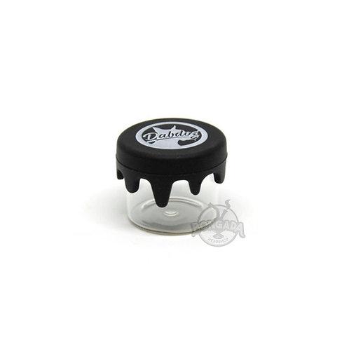 Dog Melt Glass DabDog - Pote de Silicone/Vidro 5ml