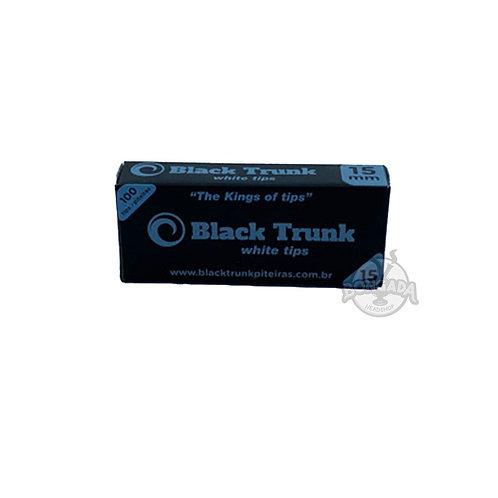 Piteira de Papel Black Trunk Branca 15mm