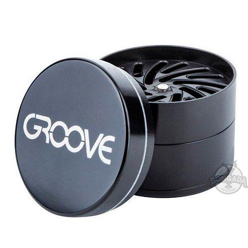 Triturador/Dichavador de Alumínio Groove 3 Fases