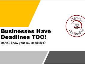 Businesses Have Deadlines TOO!