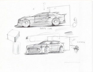 Sketchbattle JR Car Design Class 1.1