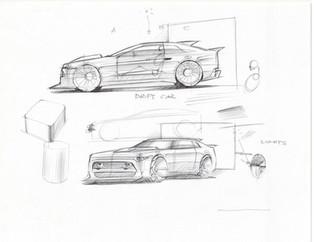 Sketchbattle JR Car Design Class 1.1