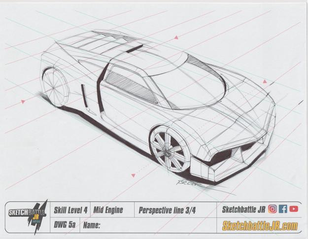 Mid Engine Sports Car