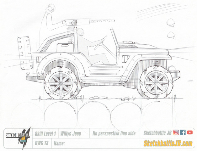 Jeep Level 1 Instructor Sketch