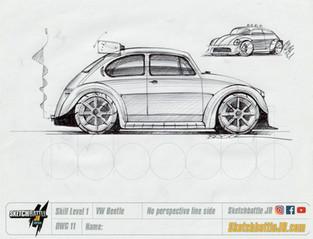 Lowered VW