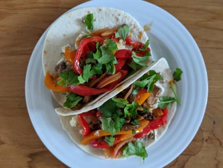 Meal Prep Mondays- Breakfast Fajita Tacos!