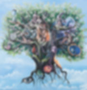 2011 - Lebensbaum - 152 x 172 - 10500.--
