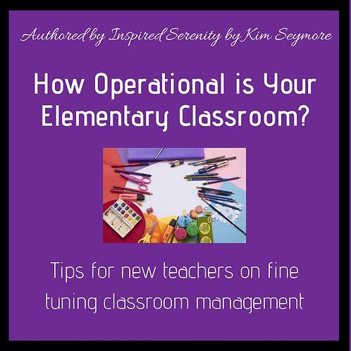Quick Tips: Classroom Management