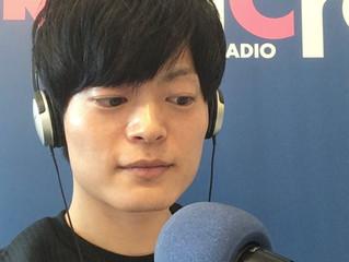 ラジオに出演しました!