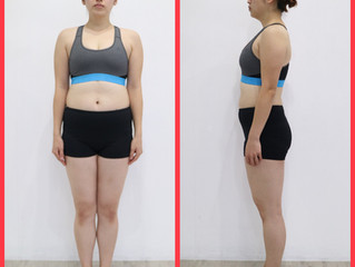 Before→After(ダイエット&ボディメイクコース 顔出しモニター 30代女性)Part1