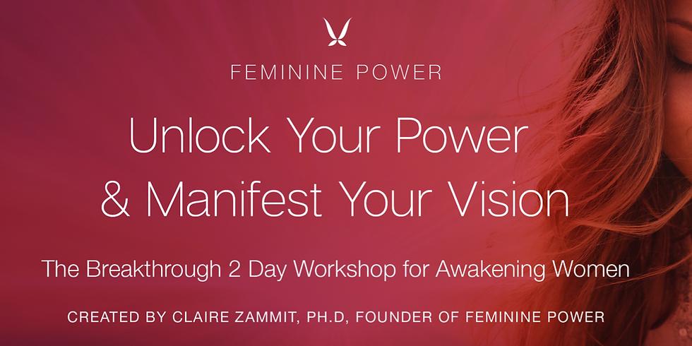Feminine Power Workshop- Cate Gongos Facilitator
