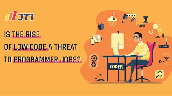 Is The Rise Of Low Code A Threat To Programmer Jobs?