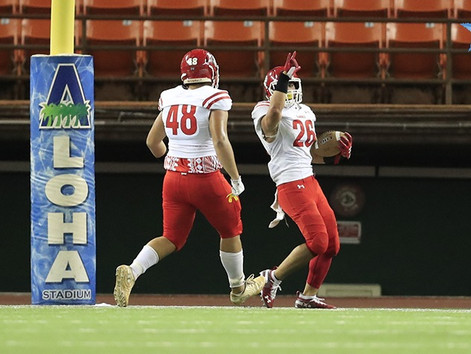 Saint Louis torches Kahuku to capture its fourth consecutive Open Division State Championship