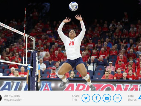 Player of the Week: Arizona's Penina Snuka