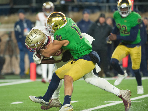 Raised Tough: From his childhood to a year at Navy, junior safety Alohi Gilman has cultivated a phys