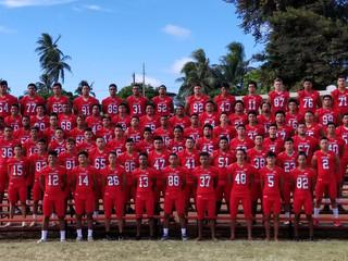 Kahuku Varsity Football Roster 2017