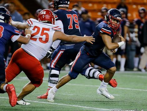 Saint Louis blanks Kahuku in abbreviated game