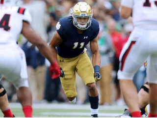 Time and Place: How the long road put Notre Dame safety @alohigilman on the right path