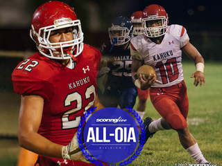 Kahuku dominates All-OIA Blue conference selections