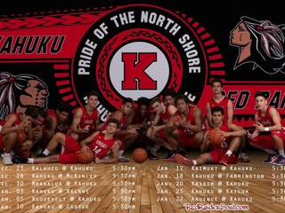 Let's support our Kahuku Red Raider Boys Basketball Team as they defend OUR school's / commu