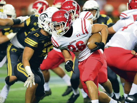 Kickoff return touchdown powers Kahuku to title