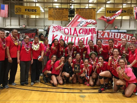 Kahuku all aces in OIA final