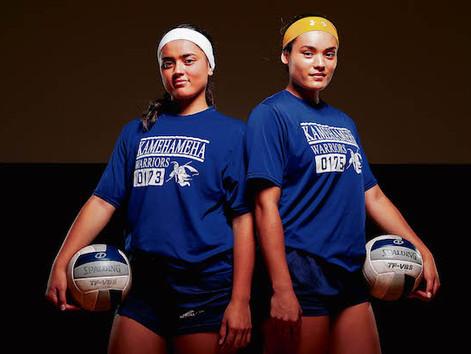 Q&A: Kamehameha's Keonilei and Braelyn Akana #StraightFromTheBush