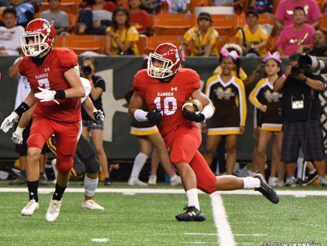Red Raiders led by defense in back-and-forth affair
