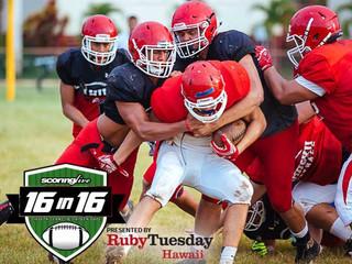 16in16: Kahuku Red Raiders
