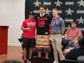 Four-star OL honored with All-American Bowl jersey
