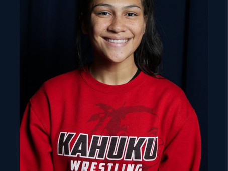Great job Teniya! First multiple Kahuku State Champs in 10 years! [Full Spectrum]