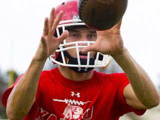 Kahuku's Kaniho lands in national record book
