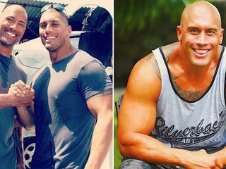 The Man Behind The Rock's Stunts For The Past 13 Years Is His Cousin